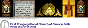 Alternate banner: First Congregational Church of Cannon Falls