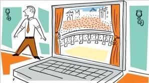 All the Internet's a Stage. Why Don't C.E.O.'s Use It?