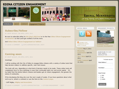 Edina Citizen Engagement