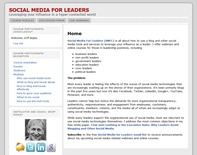 Social Media for Leaders
