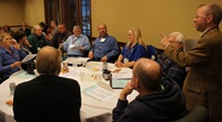 Ted Davis at Leadership Conference for Experienced Officials, Nisswa, MN 2013