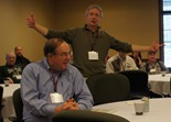 Griff Wigley at Leadership Conference for Experienced Officials, Nisswa, MN 2013