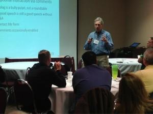 Griff Wigley, LMC presentation, Mankato