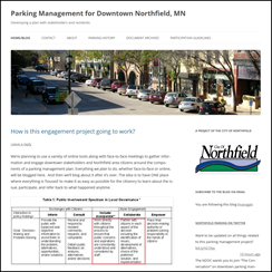 Parking Management Downtown Northfield