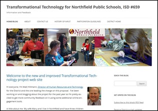 Transformational Technology - Northfield Public Schools