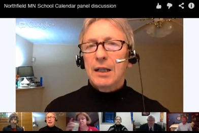Northfield Calendar Conversation - Google Hangout