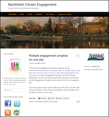 Northfield Citizen Engagement
